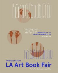 Los Angeles Art Book Fair, 2017