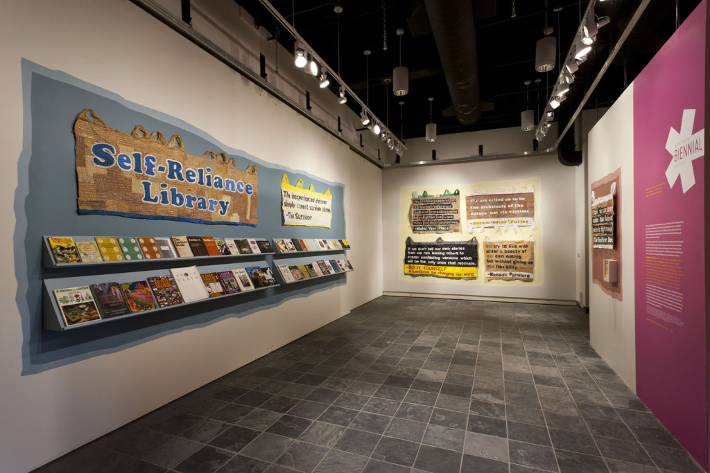 Self Reliance Library | Miller Gallery | Temporary Services