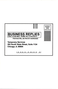 18. Business Replies, April 2000.