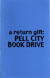 34. Pell City Book Drive, by Dana Sperry, March 2001.