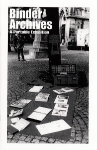 60. Binder Archives Exhibition Guide, revised edition, March 2004.