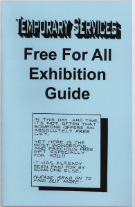 12. Free For All Exhibition Guide, February 2000.