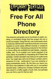 14. FFA Phone Directory, February 2000.