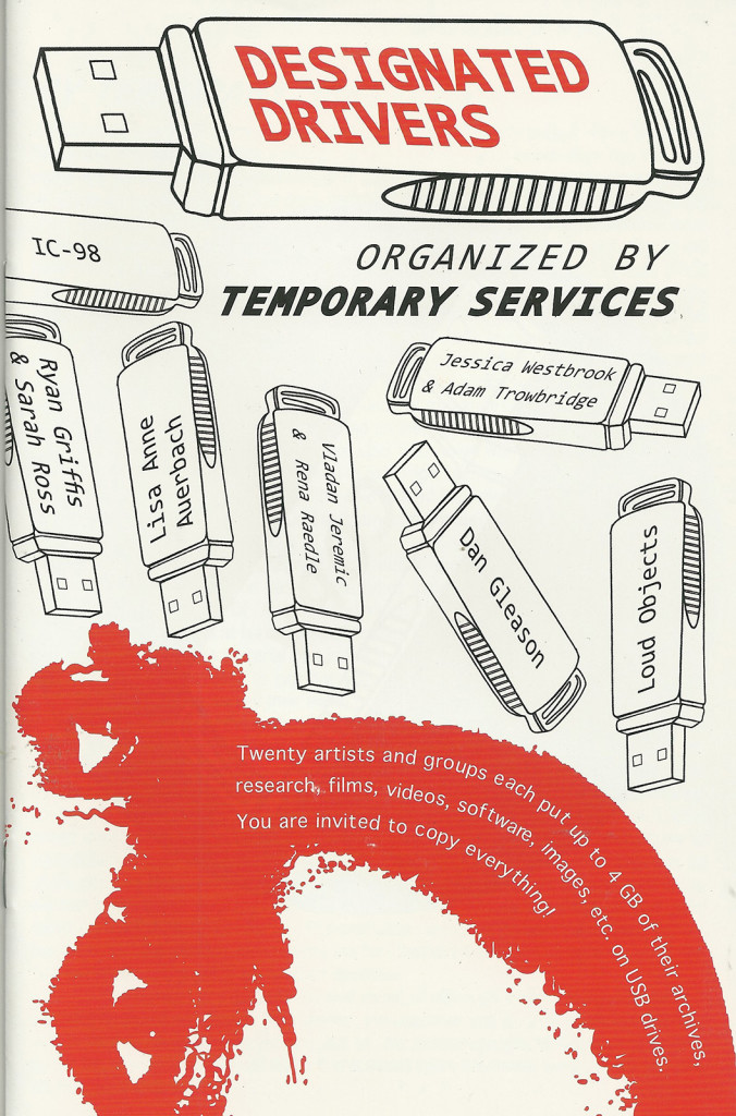 Designated Drivers Zine | Temporary Services