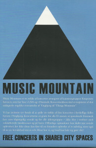 94. Music Mountain, by Temporary Services, May 2012.