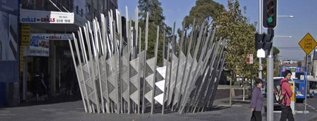 Temporary Services | Redfern Sculpture | There Goes the Neighbourhood
