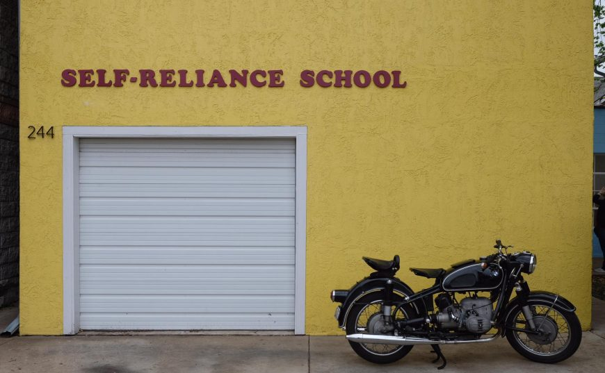 Opening Day of the Self-Reliance School